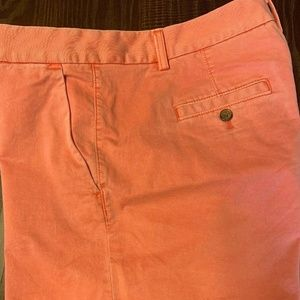 Banana Republic Women's Cargo Short SZ 10 Peach